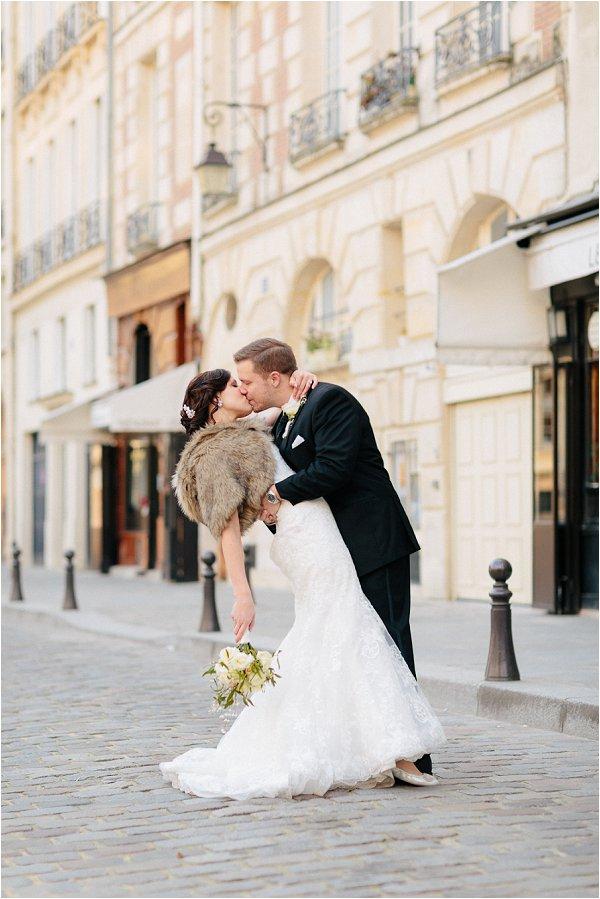 Paris wedding day
