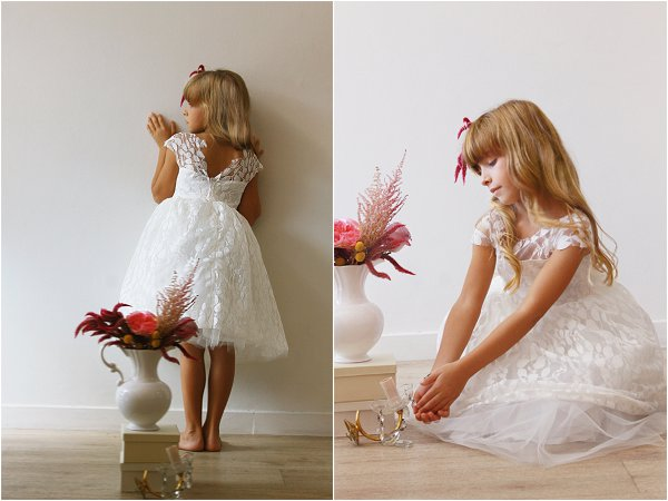 Posing children for photos