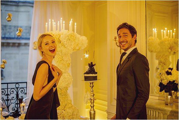 Wedding day fun in Paris