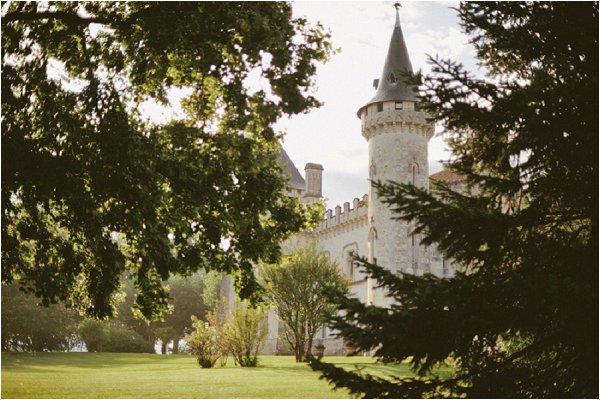 castle wedding in France