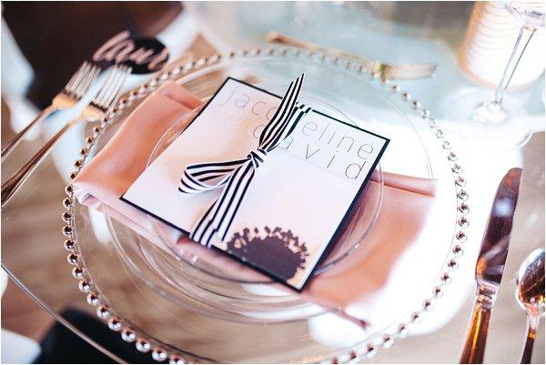 clear wedding plates