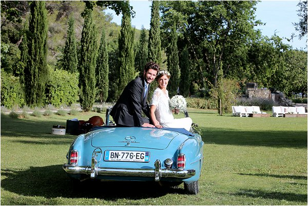 countryside wedding in Provence