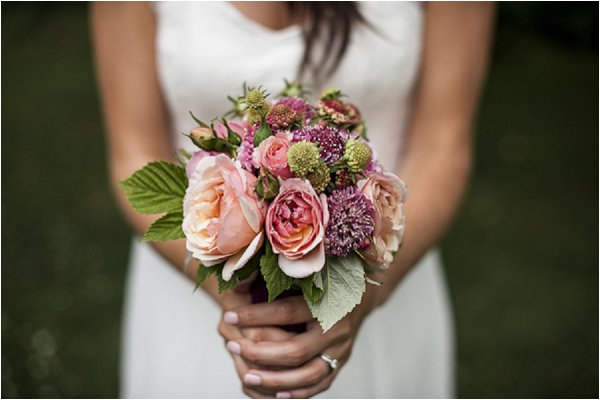 countrystyle wedding bouquet
