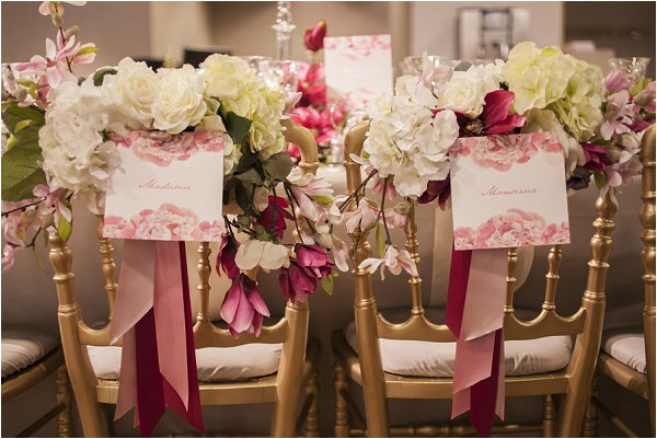 decorating wedding chairs