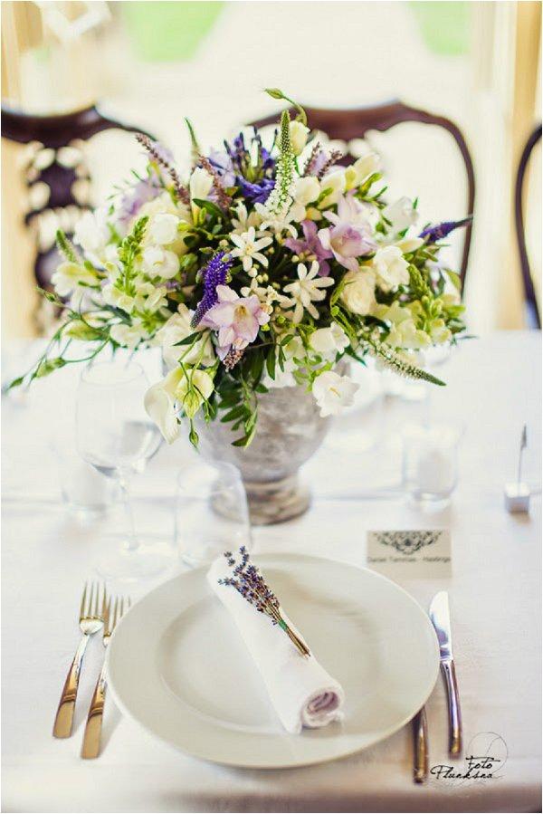garden style wedding flowers