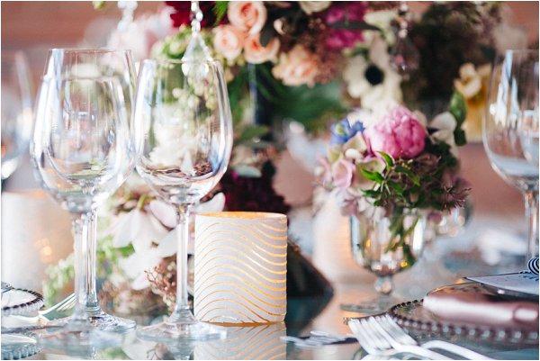 luxury wedding tables
