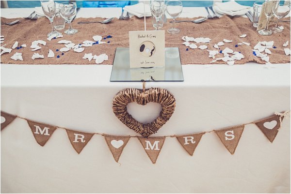 mr and mrs burlap sign