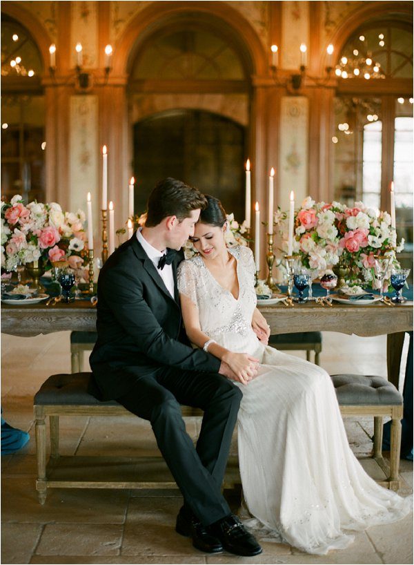 romantic styled bridal inspiration