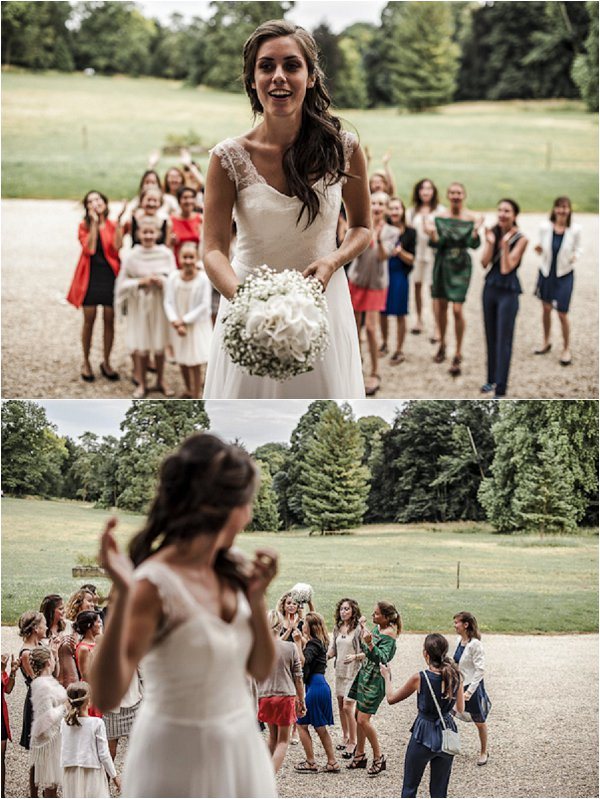 throw the bouquet