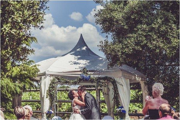 unique wedding ceremony canopy