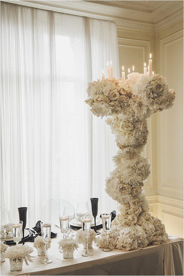 unique wedding table decorations