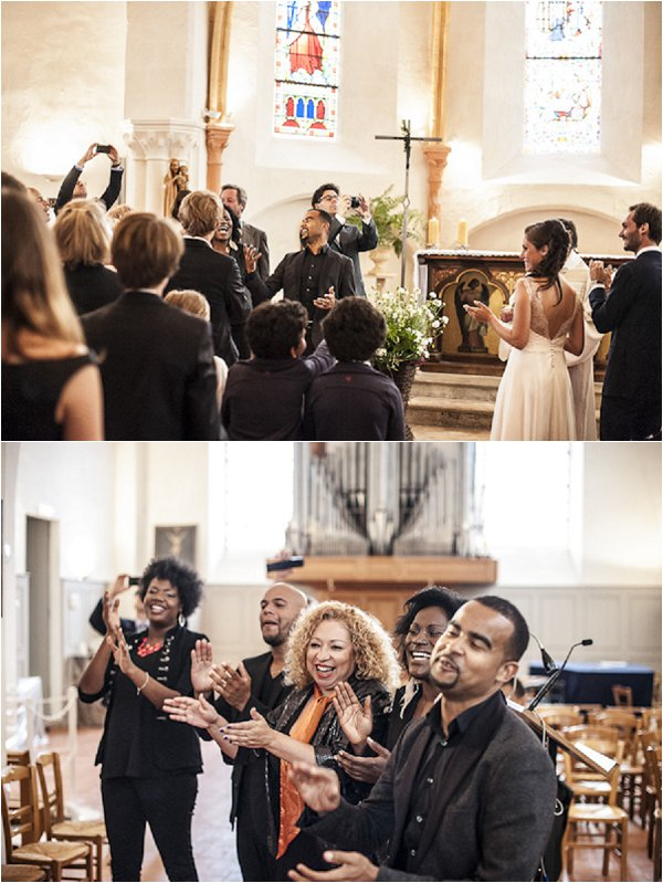 wedding gospel choir
