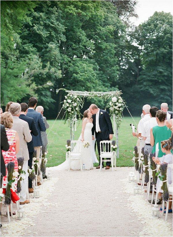 wedding at Chateau Des Barrenques