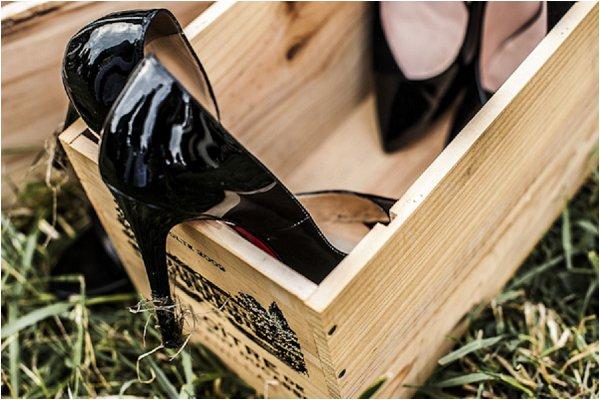 wedding shoe box