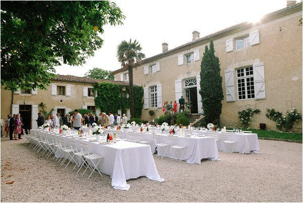 Chateau Lartigolle wedding