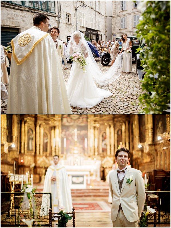 Church wedding in Avignon France