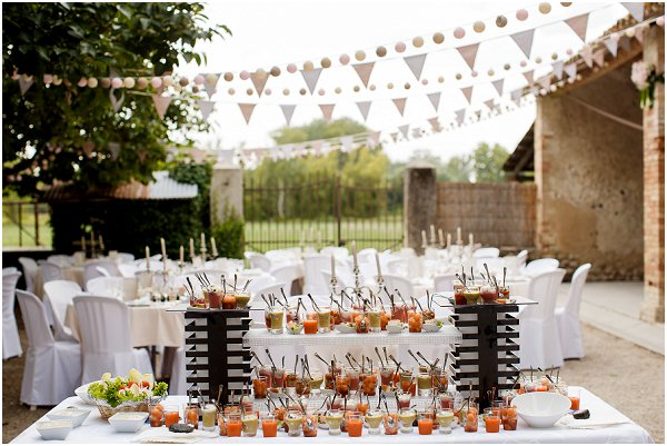 French wedding catering ideas
