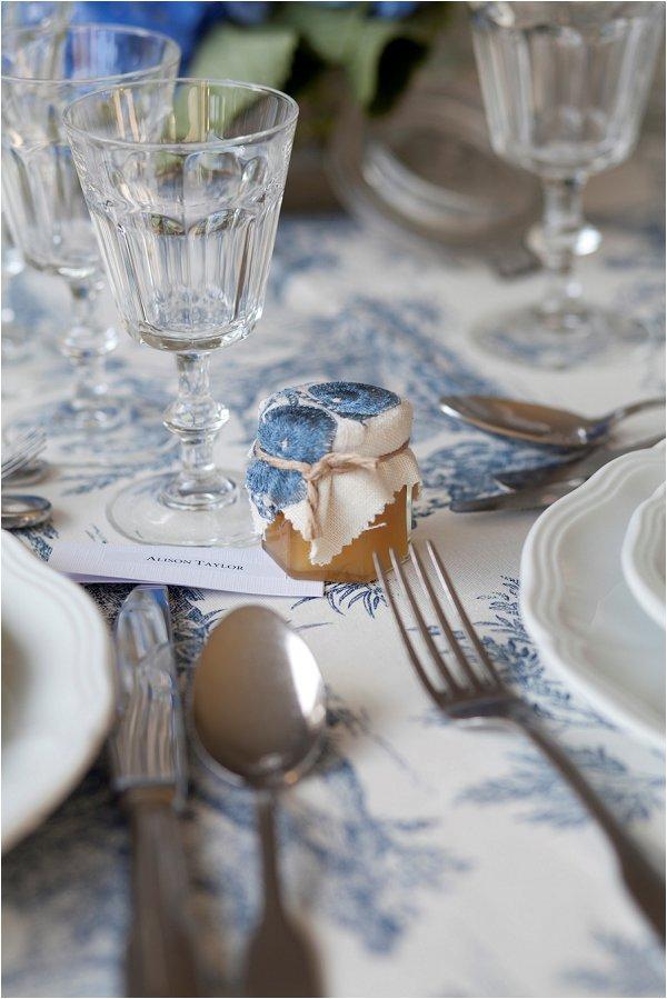 French wedding table cloth