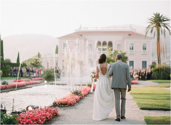 Lavender & Rose real wedding