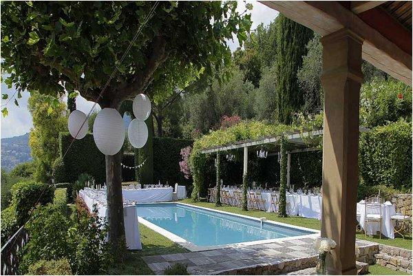 Private wedding villa in Provence