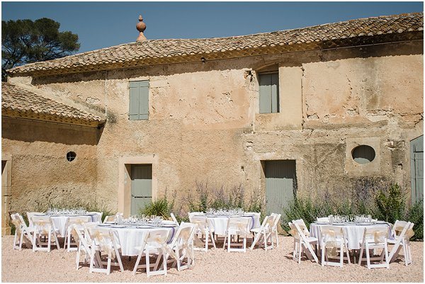 Rustic wedding venue France