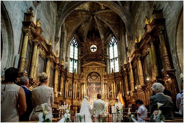 Wedding Church in Avignon