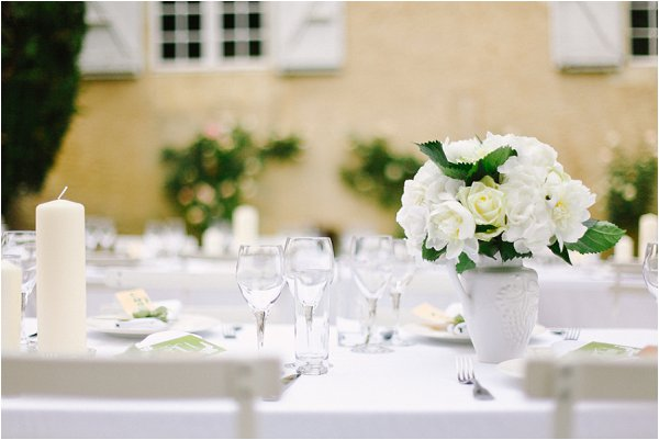 White and cream wedding ideas