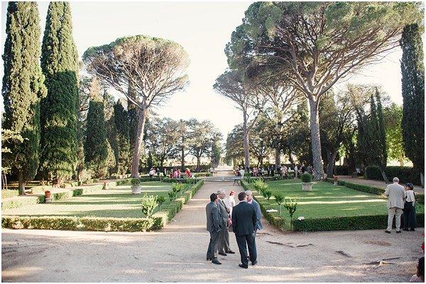 beautiful grounds at wedding venue