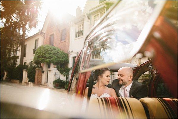 car tour in Paris