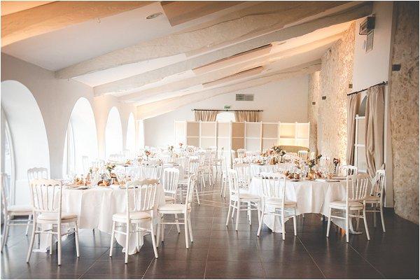 classic wedding table design
