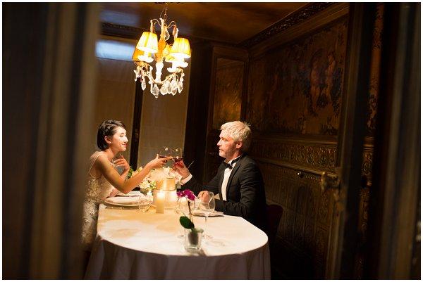 elopement dinner