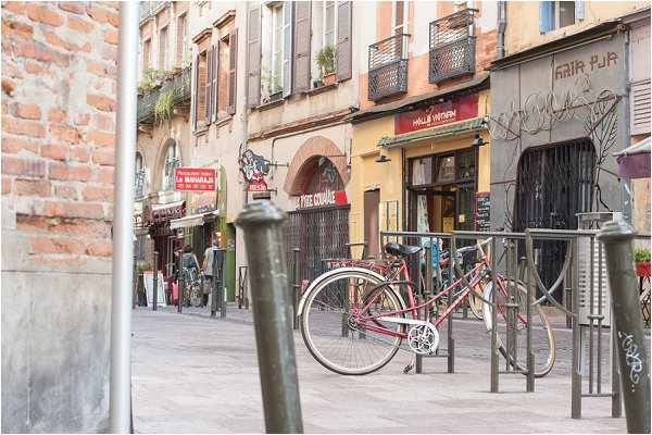 exploring Toulouse on Bike