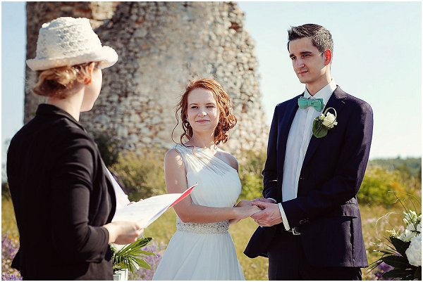 how to get married in a lavender field