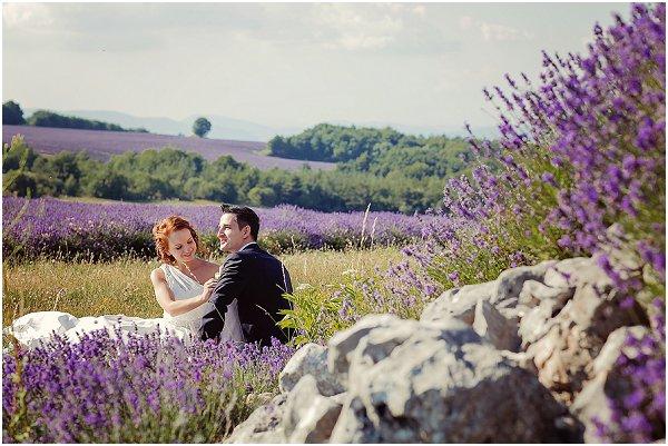 lavender field wedding reception