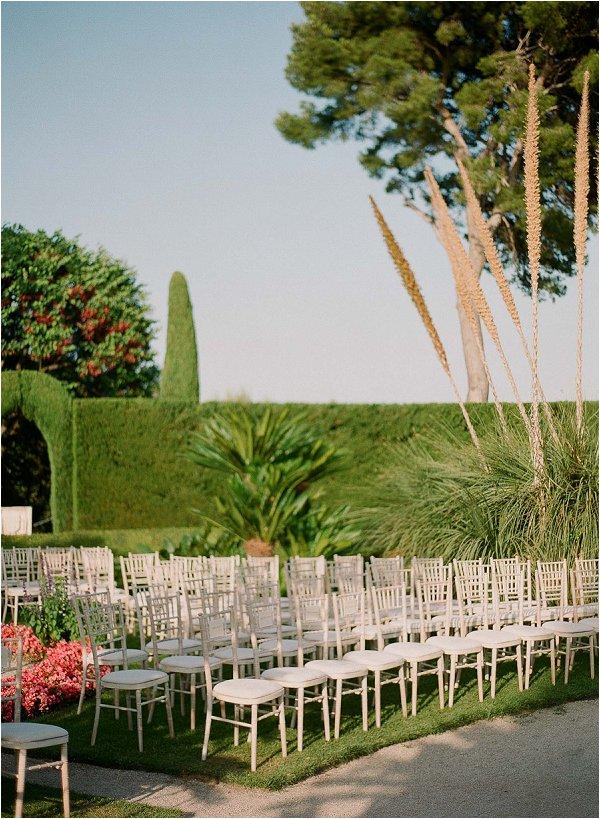 luxury outdoor wedding France