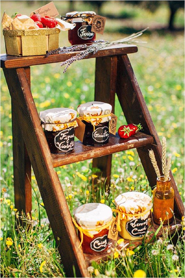 organic homemade jams