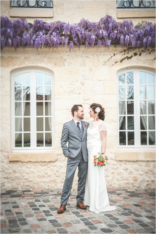 real wedding near Bordeaux