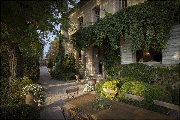 La maison de Catrin Thomas a Bonnieux. France 2011 © Corine Brisbois