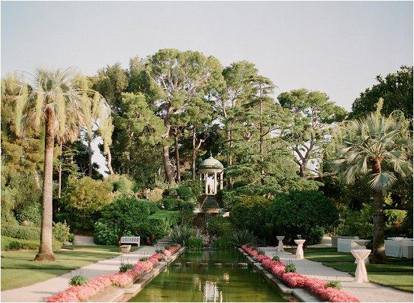 wedding gardens South of France