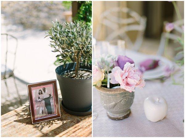 DIY wedding table decorations