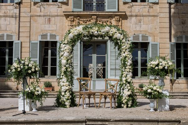 Fleurs Design by Faustine Wedding Florist in the Languedoc