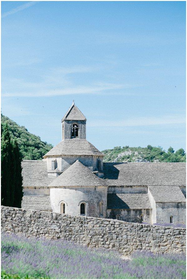 Provencal abbey