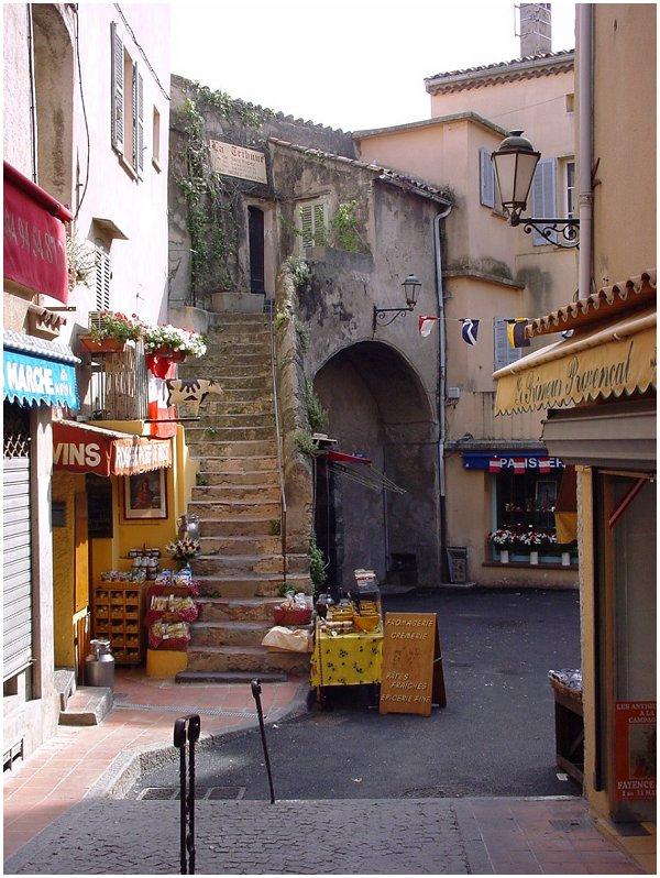 Saint Tropez, place des Herbes