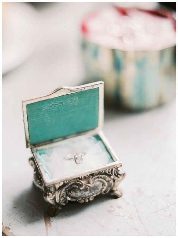 Tiffany ring box
