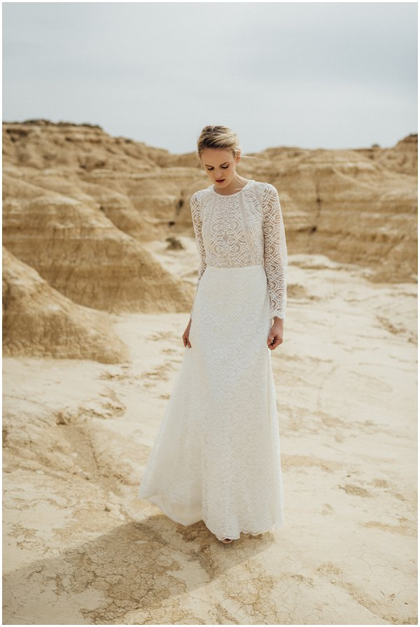 alternative white wedding dress