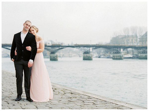 anniversary session River Seine