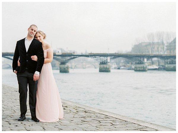 anniversary session River Seine