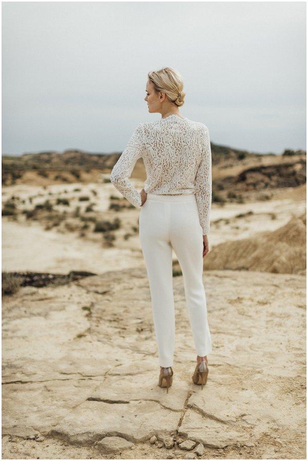 bridal trouser suit outfit