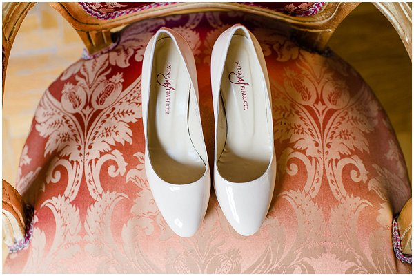 cream bridal shoes