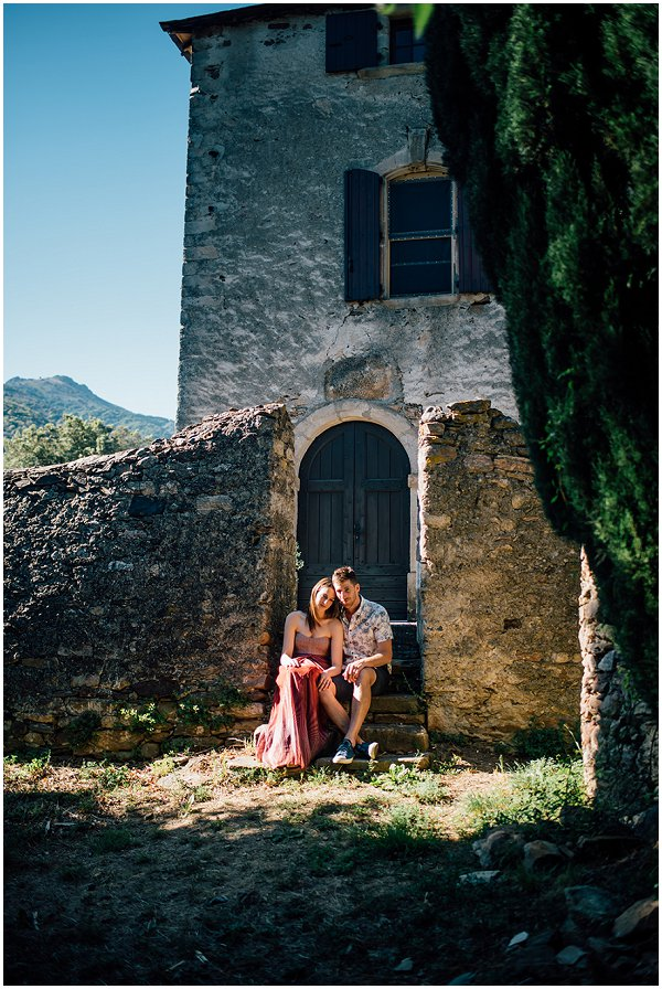 engagement session in France